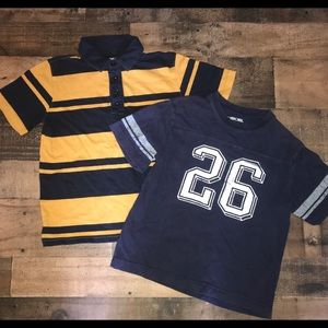 Boys small gap kids Cherokee 6 7 polo shirts